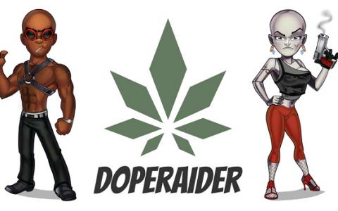 DopeRaider 犯罪题材的区块链RPG游戏