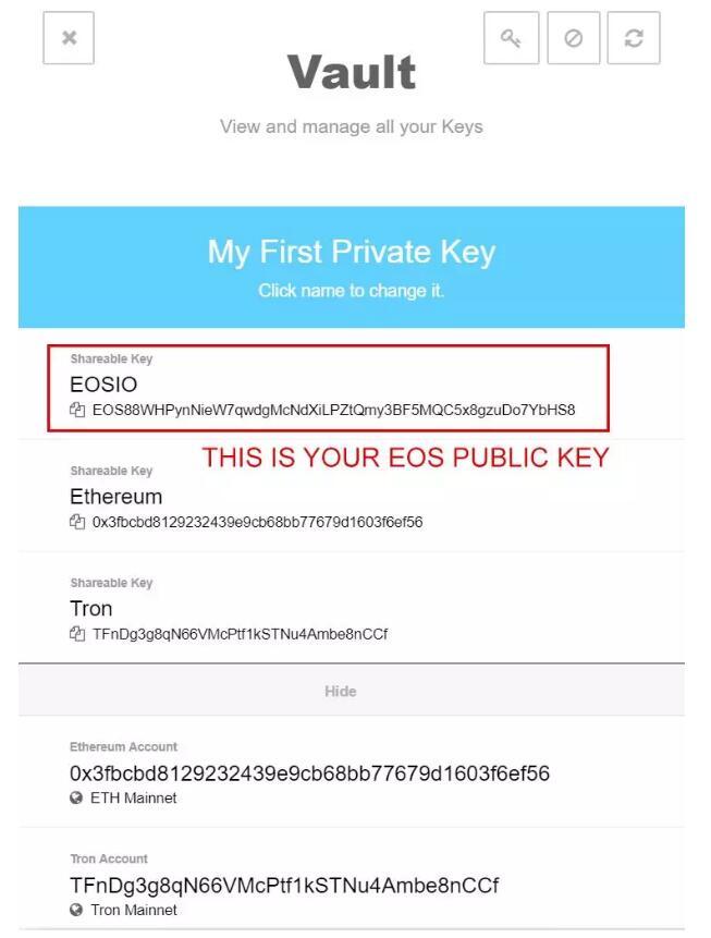 EOS新手必备的账户知识