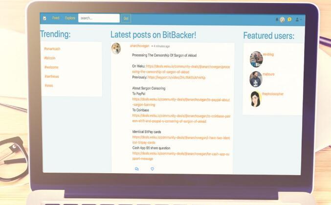 Bitbacker.io提供一种基于加密货币的patreon替代方案