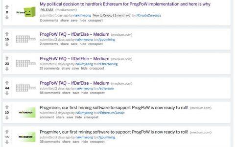 """ProgPoW团队计划在""""君士坦丁堡""""升级前分裂以太坊"""
