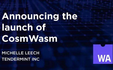 CosmWasm宣布正式启动