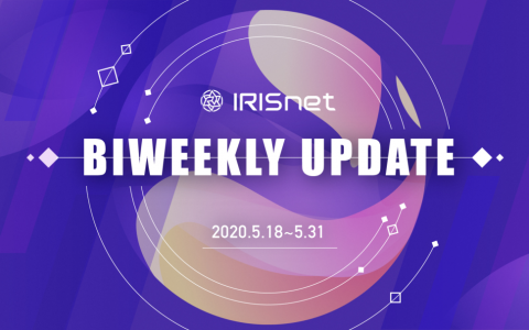 IRISnet 双周报(2020.5.18~5.31)