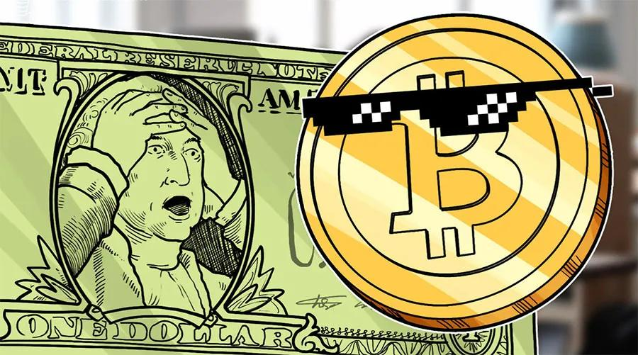 彭博社:美国人用贬值的美元购买比特币
