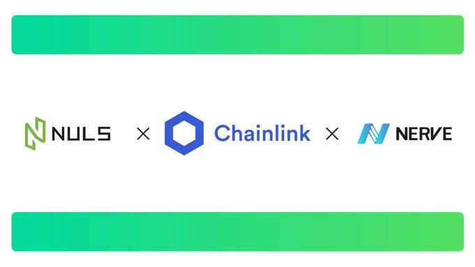 NULS及异构跨链生态Nerve将集成Chainlink预言机,赋能开发者打造DeFi产品