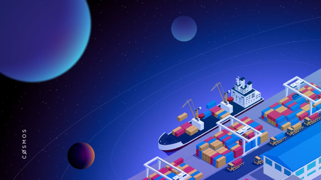 Cosmos Hub 是一座港口城市