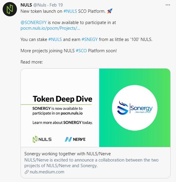NULS社区2021年2月下半月简报 | Nabox 生态插件钱包开启内测