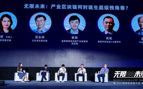 圆桌实录:无限未来,产业区块链何时诞生超级独角兽?丨2021世界区块链大会